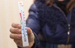 сколько градусов допустимо зимой?