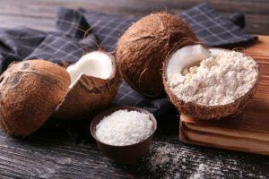 период для кокосовой смеси