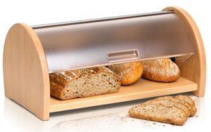 как долго сохранится в домашней хлебнице?