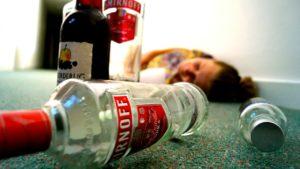 угроза отравления алкоголем
