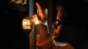 действия, если выключили электричество