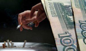 Штрафы за курение в подъезде